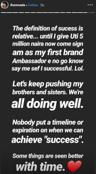 Ifu Ennada reacts to Uti declaring CeeC as the most successful BBNAija 2018 housemate