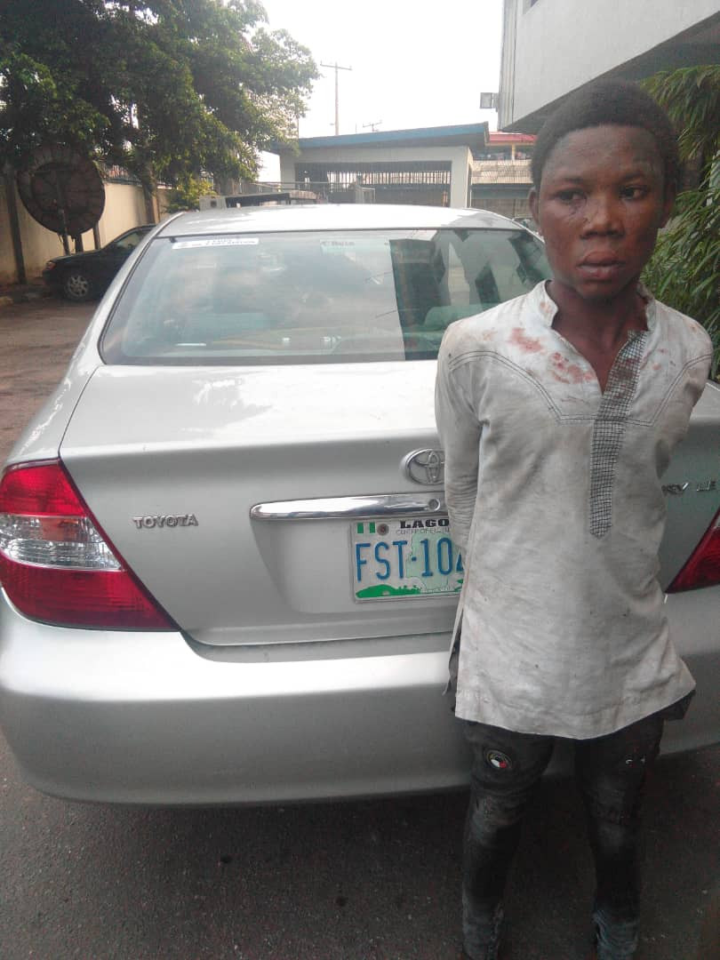 Photos: 24 hours after he was employed, 22-year-old domestic staff murders his employer and her mother in Lagos