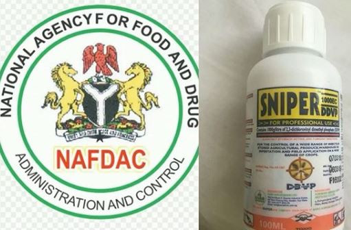 NAFDAC announces a ban on Sniper,?orders withdrawal of the product from open?markets