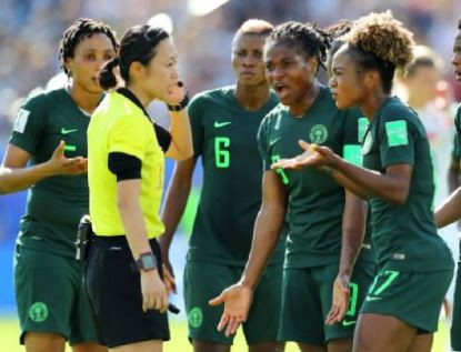 Super Falcons refuse to leave their hotel in France until their share of the FIFA money is paid