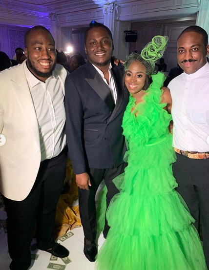 Photos: Aliko Dangote, Femi Otedola, Tony Elumelu, Bola Shagaya, Gov Ihedioha, others at billionaire son, Eyinna Anumudu