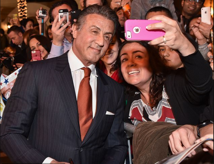 Legendary actor, Sylvester Stallone charges ?849 for a photo with him at UK events