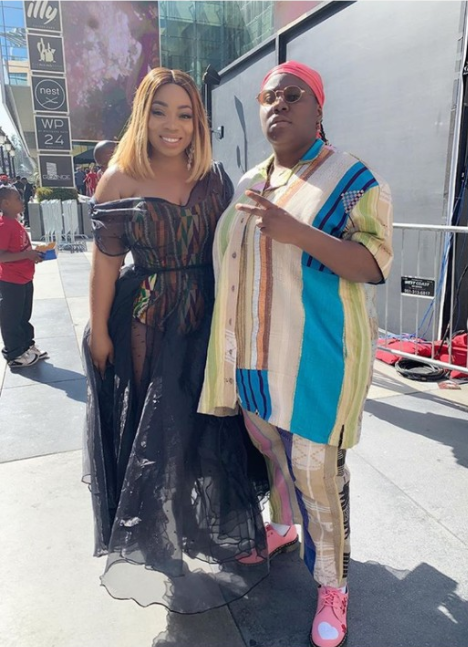 Singer Teni at the 2019 BET Awards (photos)