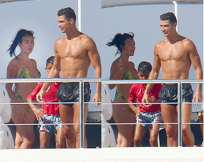 Cristiano Ronaldo 'gives Greek hotel workers £18,000 tip for keeping the paparazzi away from his family 5d10b148abc63