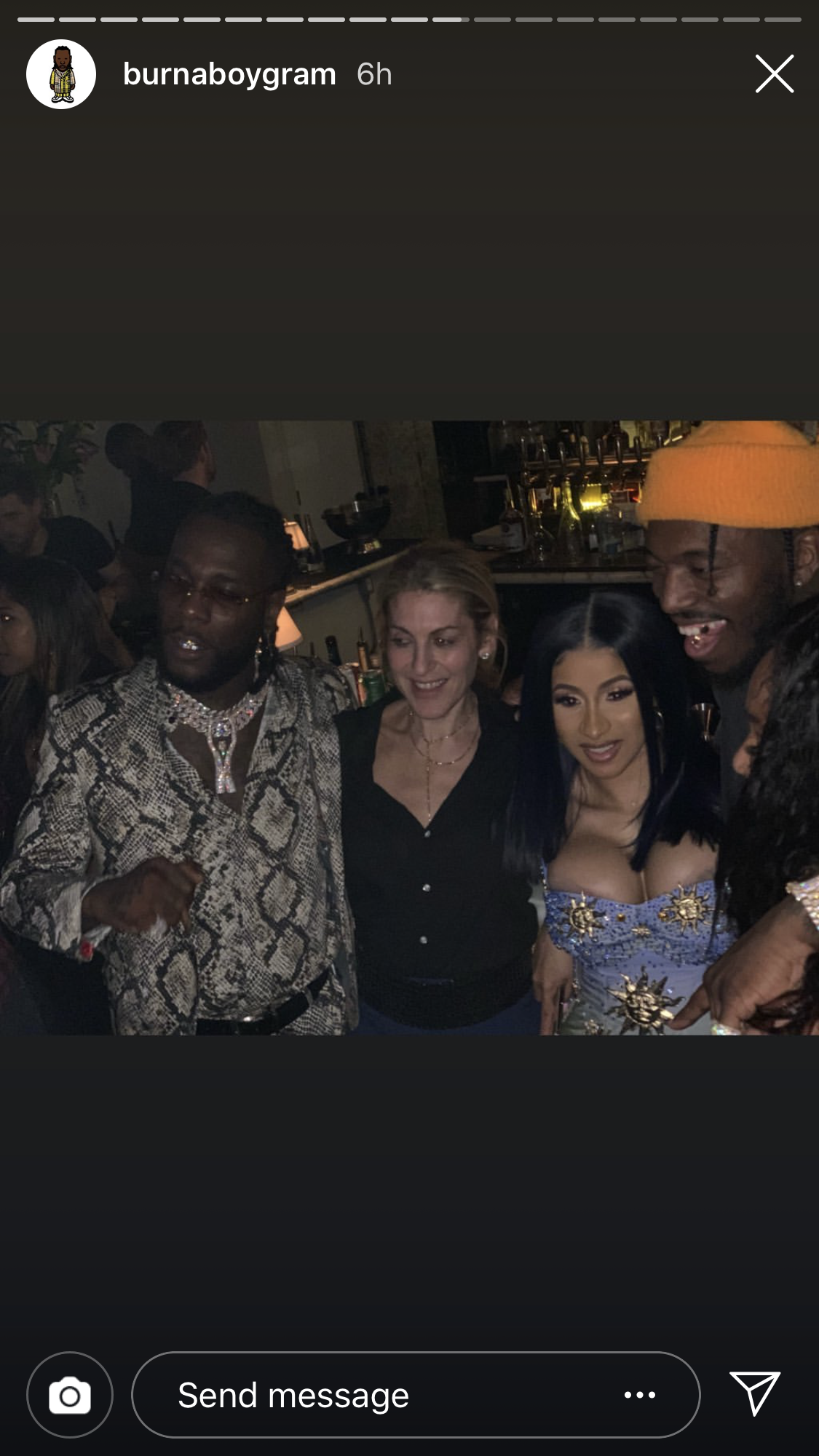 Cardi B suffers nip slip at the BET awards after party (photo)