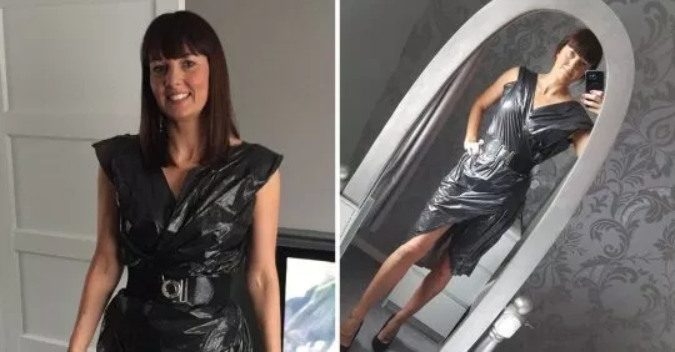 Mum turns up to a night out wearing a bin bag after friend told her she