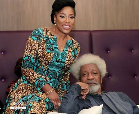 Mo Abudu and Wole Soyinka finally react to the viral