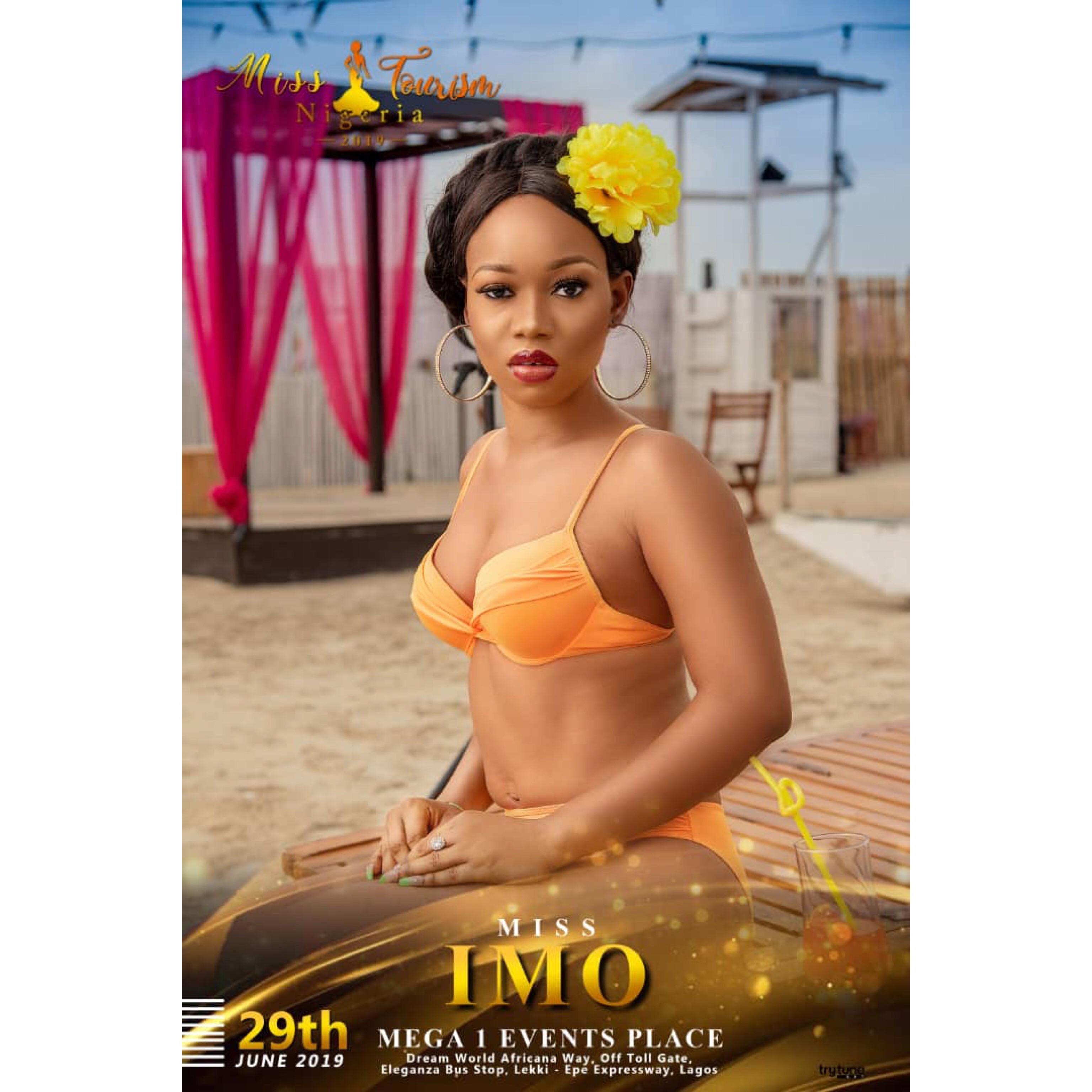 Hot bikini photos of Miss Tourism Nigeria 2019 finalists