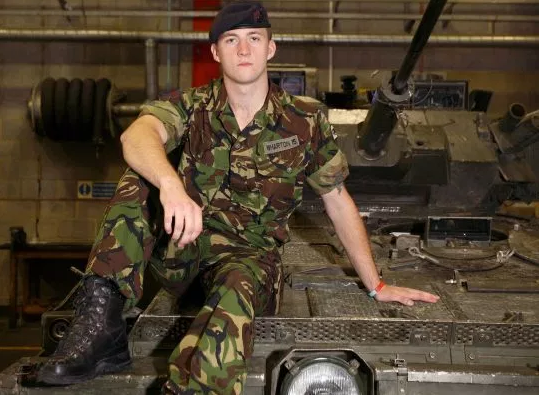 Ex-soldier who served with Prince Harry is