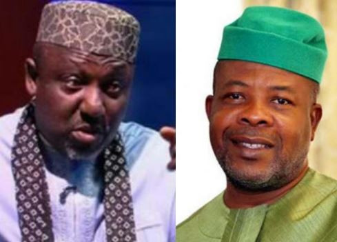 More drama in Imo State as Governor Ihedioha sends police to raid and confiscate clothes, chairs, fridges from Okorocha