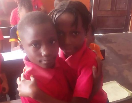 Nigerian teacher shares the beautiful thing one of her pupils did for her classmate who was in need