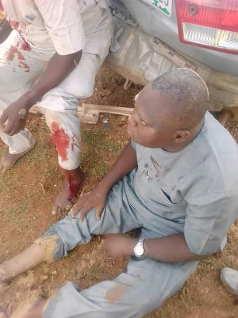 Two robbery suspects nabbed, beaten to pulp after high-speed chase by SARS operatives in Sokoto