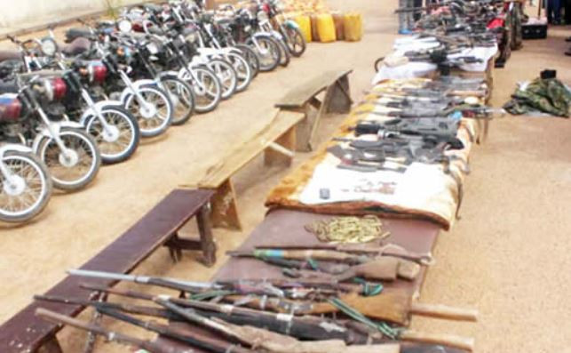 Bandits surrender 216 rifles in Zamfara State
