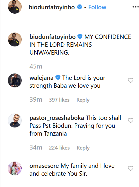 Rape scandal: Pastor Biodun Fatoyinbo steps down from the pulpit of the church