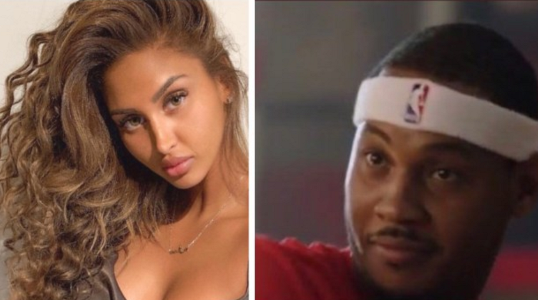 Looks like Carmelo Anthony lied when he said the lady seen with him on a Yacht was a friend's wife. She's a single woman! (photos)