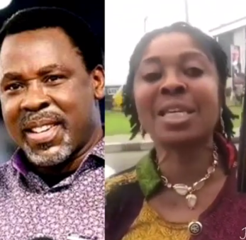 TB Joshua reacts to rape allegation leveled against him by a former member of his church, shares video of the lady begging him for disrespecting him (videos)