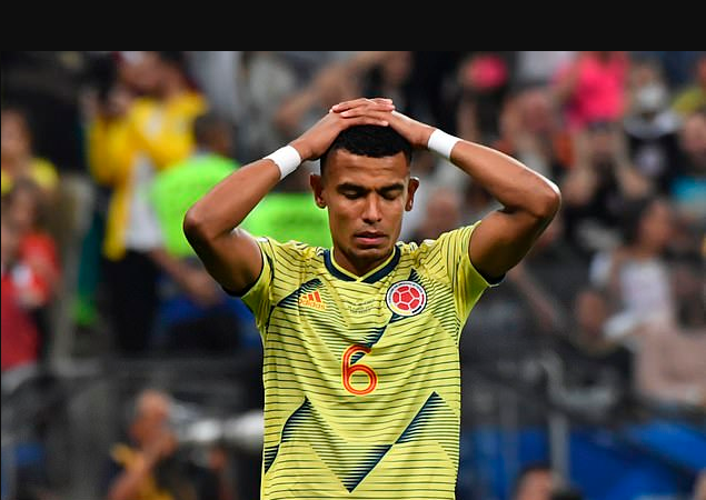 Colombia footballer, William Tesillo receives death threats for missing decisive penalty in Copa America shootout against Chile