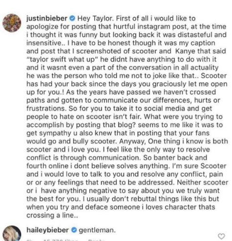Cara Delevingne calls out Justin and Hailey Bieber as she defends Taylor Swift over Scooter Braun controversy