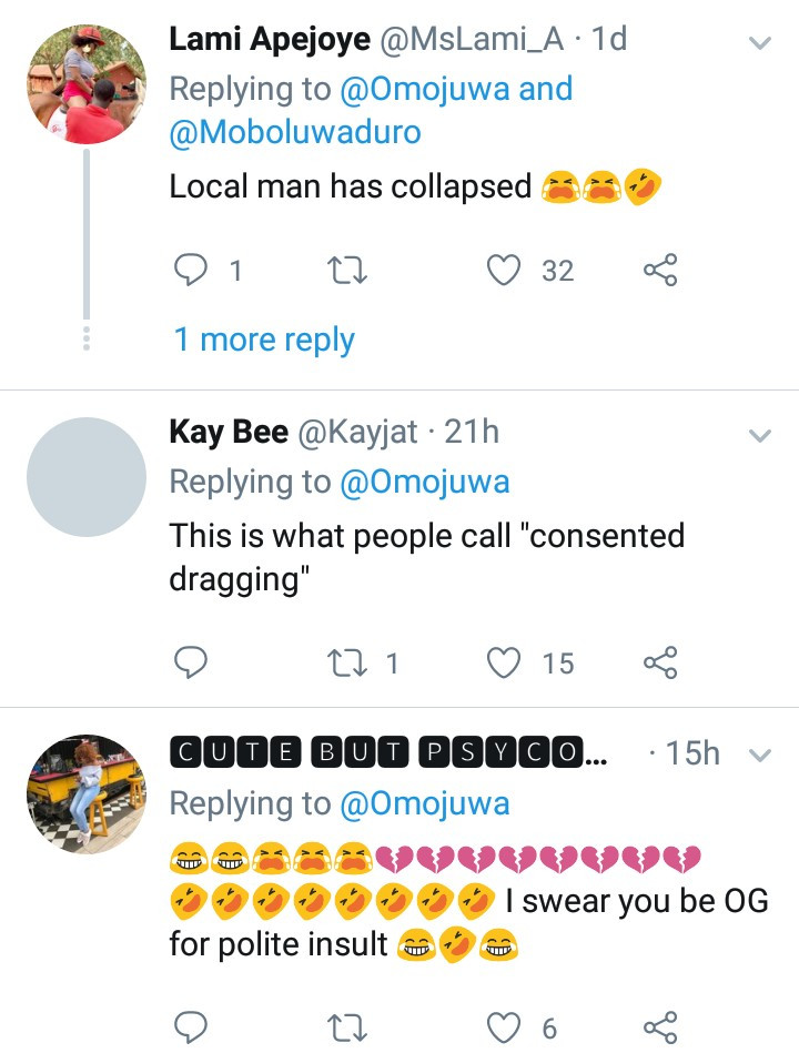 """Omojuwa drags Lere Olayinka again for saying what happened to Busola Dakolo was """"consented rape"""" and this time, it"""