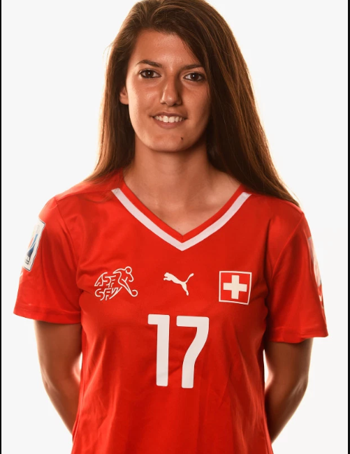 Swiss footballer Florijana Ismaili who was declared missing after
