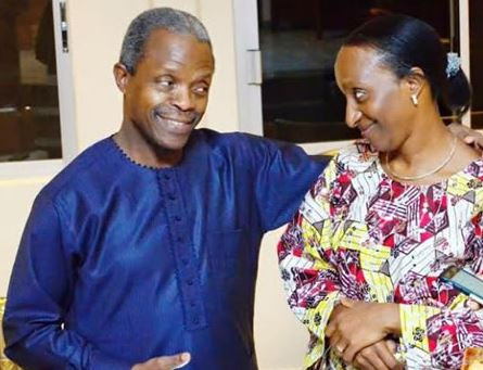 'I once worked among area boys and prostitutes in the slums of Lagos' - VP wife