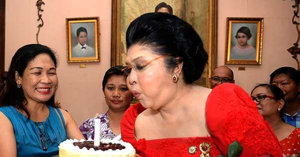 Hundreds of guests suffer food posioning at ex-Philippines First Lady, Imelda Marcos? 90th birthday party