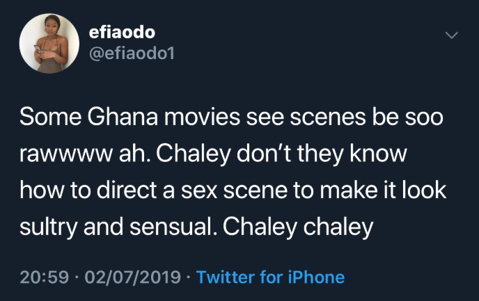 Ghanaian movie directors don?t know how to shoot sex scenes - Efia Odo?