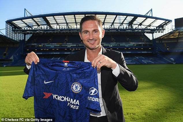 Chelsea appoints Frank Lampard as manager (Photos)