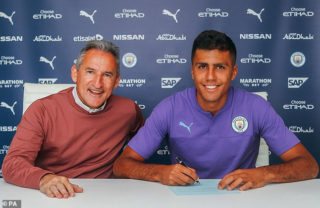 Manchester City confirm record signing of Rodri from Atletico Madrid in ?63m deal?