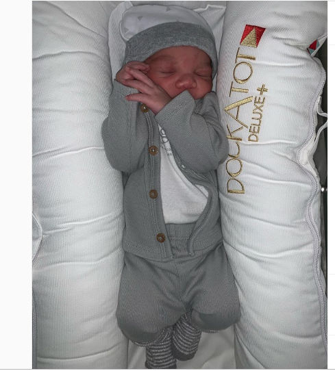 Jailed rapper, Juelz Santana and wife Kimbella welcome their third child (Photos)