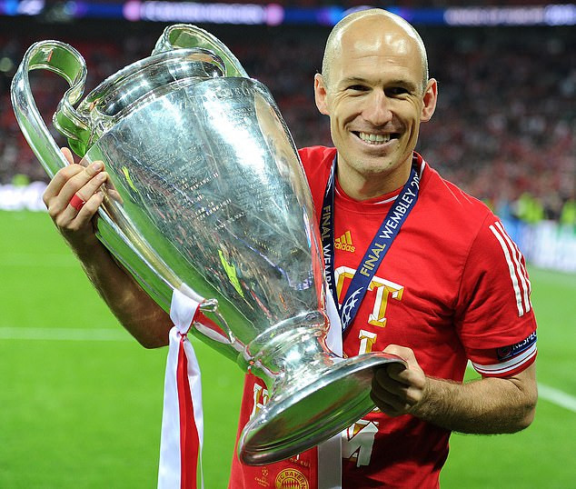 Former Chelsea, Real Madrid and Bayern Munich star, Arjen Robben announces his retirement from football at the age of 35