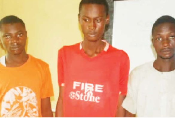 "Niger state""14 year old girl gang raped, suspects arrested""photo"""