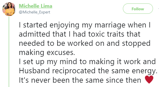 Lady who went into her marriage with the mindset that she must be worshiped because she is pretty, shares her story