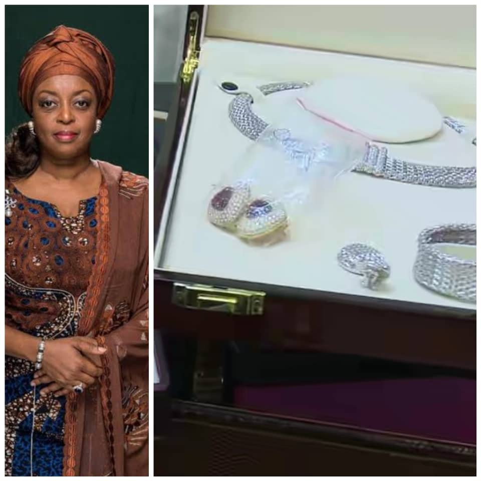 EFCC shares photos of jewelry seized from Diezani Alison-Madueke