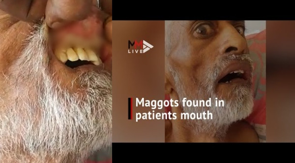 South African man dies after maggot infestation in mouth