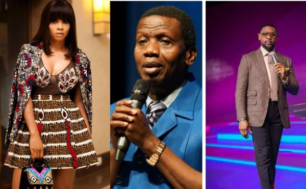 We are humans first before the anointing - Toke Makinwa says as she supports Pastor Adeboye on comment about