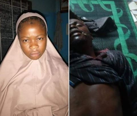 Photo: Teenage girl stabs her elder brother to death in Kano State