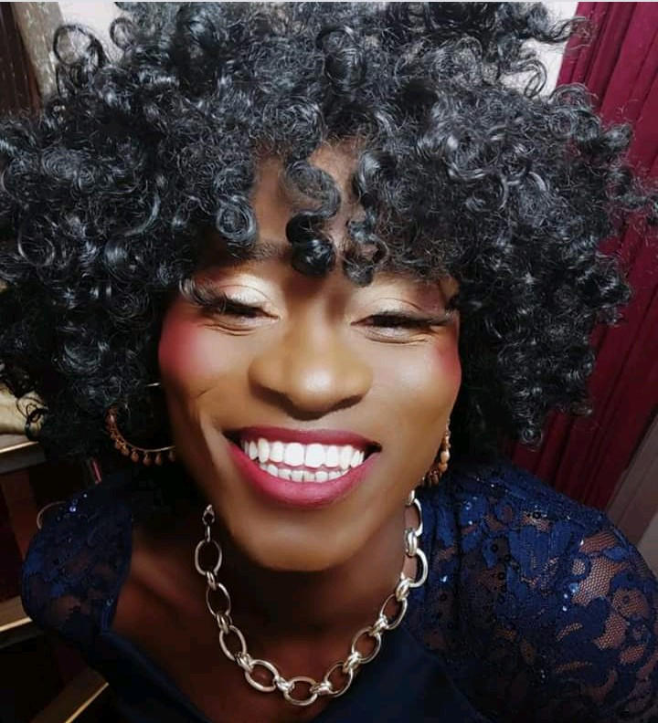 Bisi Alimi crossdresses as he performs at the Conduit as the resident drag queen