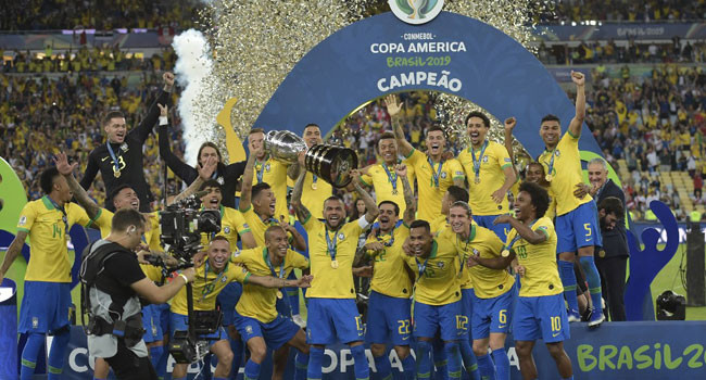 Brazil Defeat Peru To Win Copa America