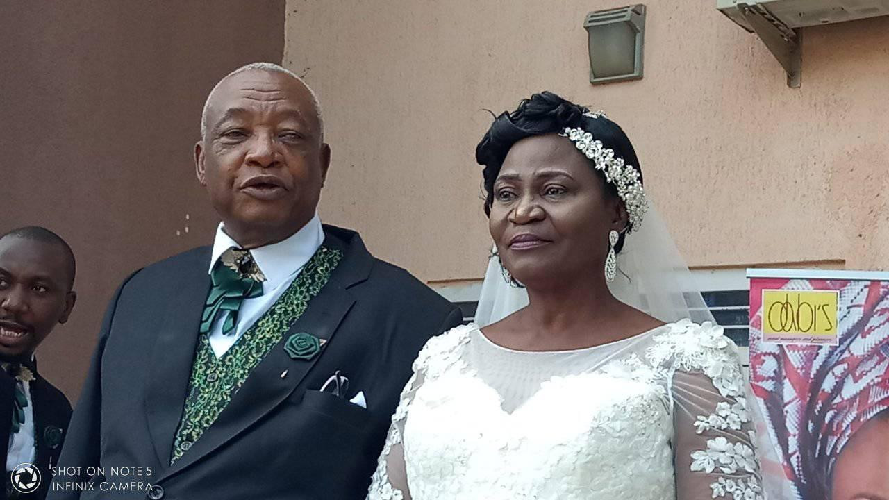 Photos: 73 year old man weds his 63 lover in Kaduna