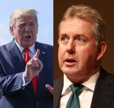 Donald Trump hits back at UK ambassador after he called him insecure