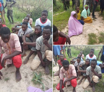 Troops rescue 13 kidnapped victims from Boko Haram captivity (photos)