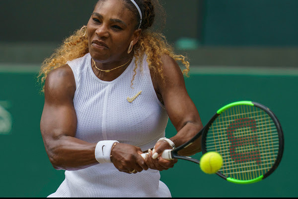 Serena Williams fined k for damaging Wimbledon court