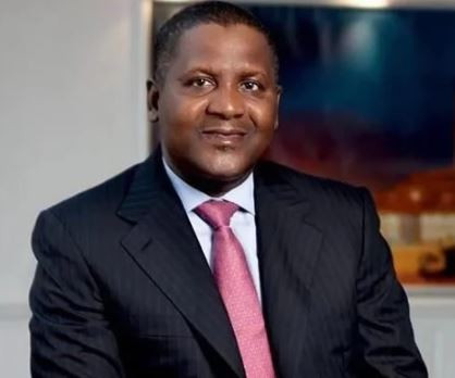 Aliko Dangote retains his position as the only African billionaire among the world