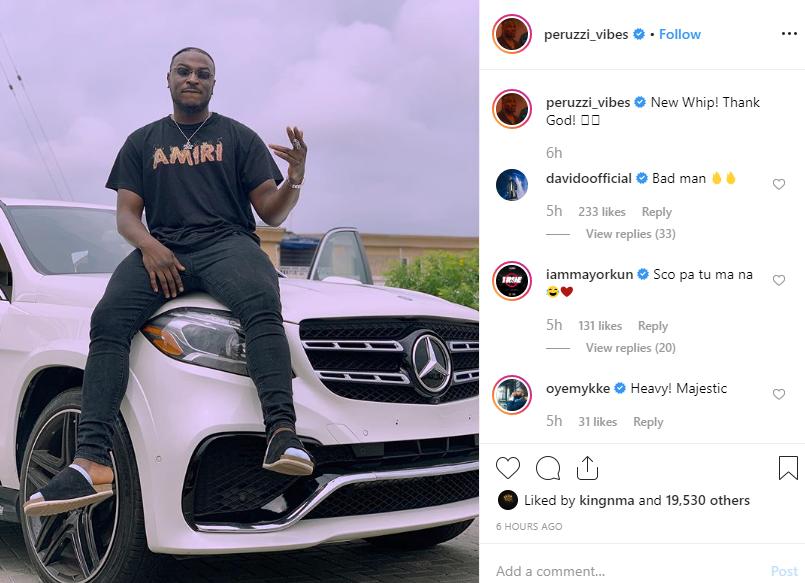 Peruzzi buys a new Benz