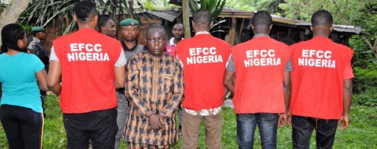 EFCC arrests fake native doctor in Ibadan (photos)