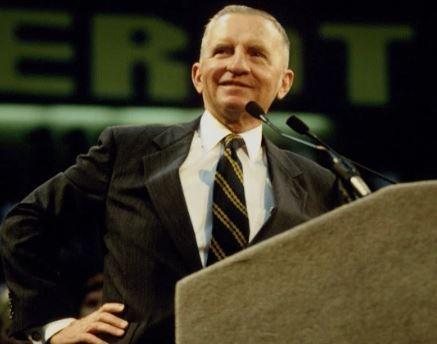 US billionaire, Ross Perot who ran for president as an independent candidate has died