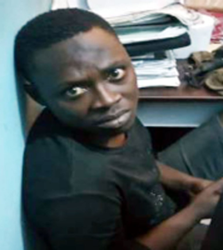 Suspected serial bank accounts hacker arrested in Lagos (photo)