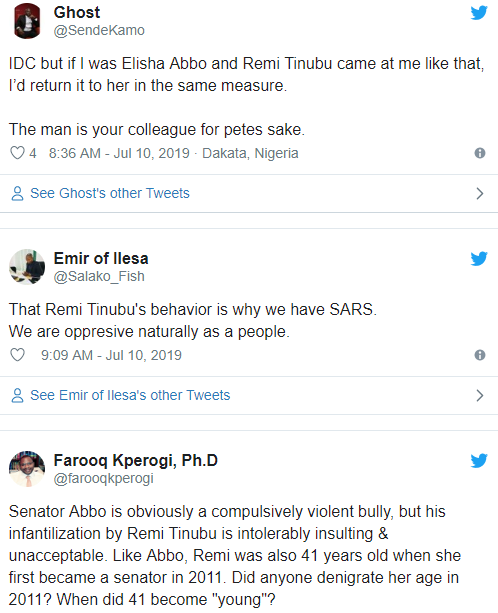 Nigerians are divided over over Senator Tinubu and Elisha Abbo