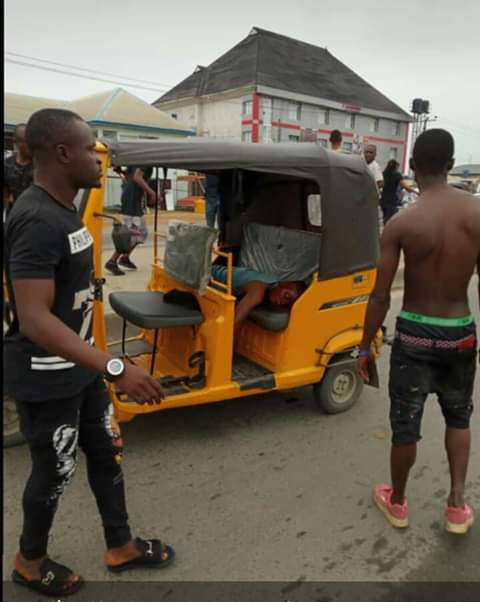 Photos: SARS allegedly kill one, scores injured during burial procession of young man shot dead by security operatives in Rivers state